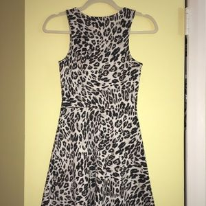 Beautiful A line Animal Print Casual Dress
